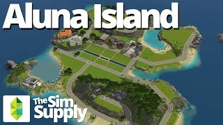The Sims 3 World - Aluna Island Overview