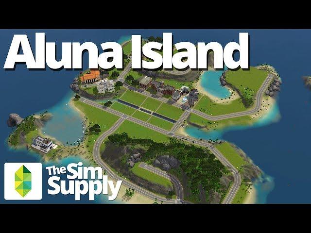 The Sims 3 World - Aluna Island Overview