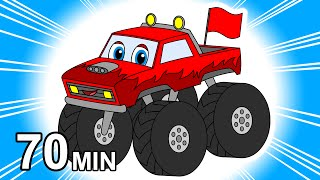 """""""Monster Trucks Colors & Counting"""" 