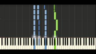 Chopin - Prelude Op. 28 No. 4 - Piano Tutorial - Synthesia