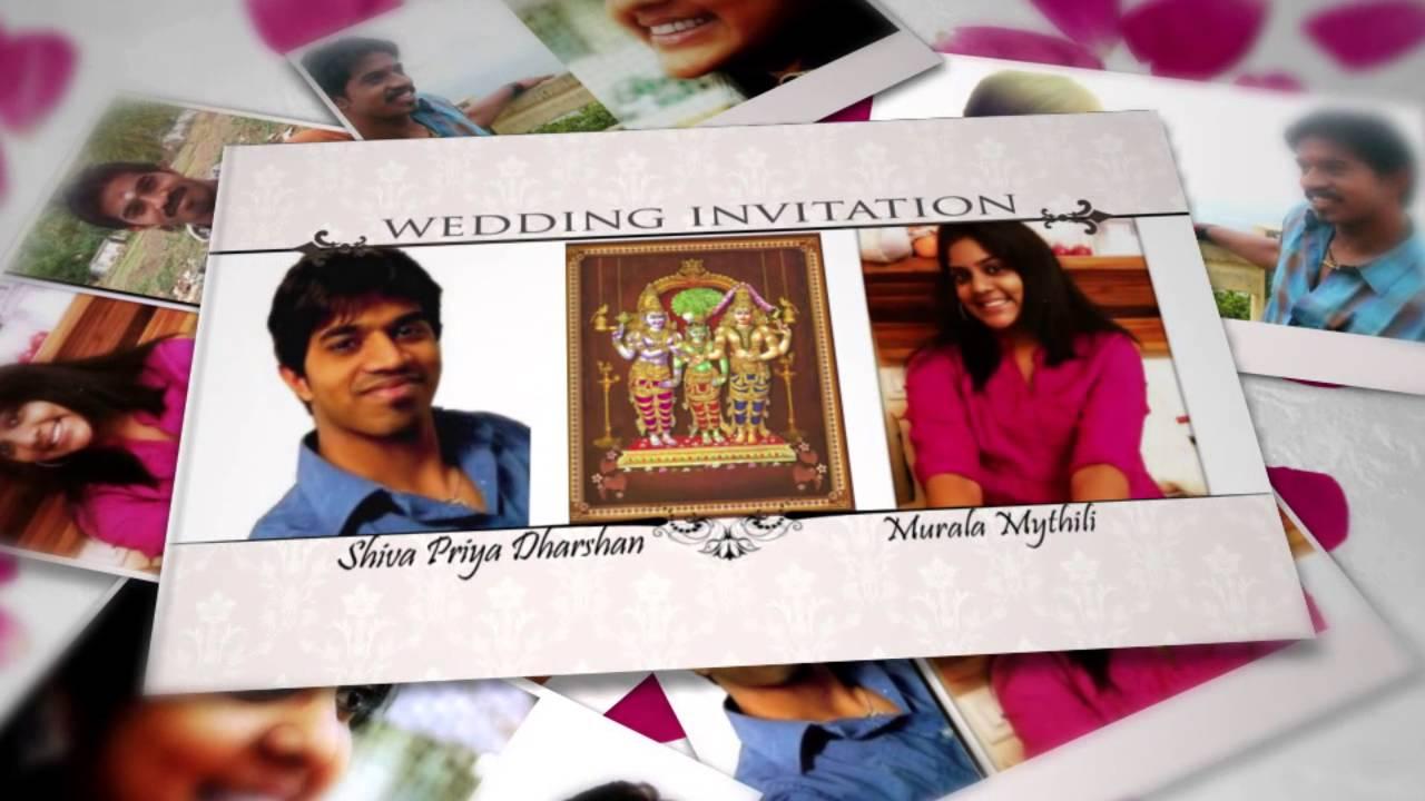 SeeMyMarriage.com Wedding Invitation Video, Live Marriage ...