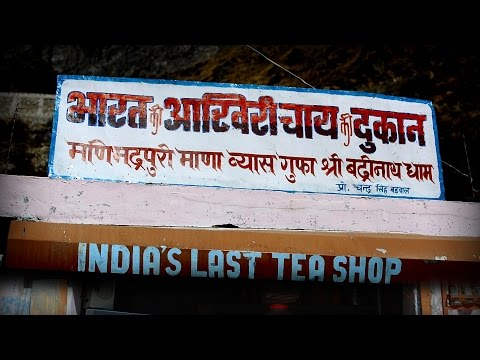 India's last tea shop | Mana Village | Before Mana Pass