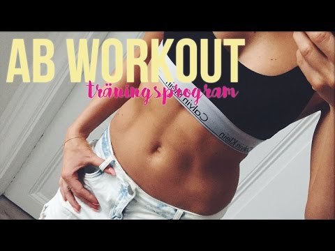 AB workout ♡