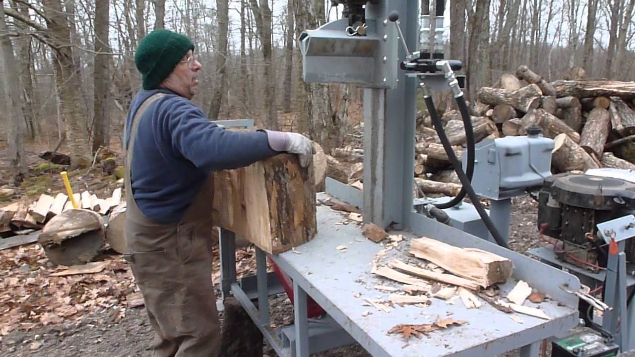 Upright Wood Splitter Youtube