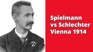 Strong centre vs activity of the pieces | Spielmann vs  Schlechter: Vienna 1914
