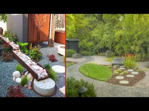 Zen Garden Backyard Asian Garden Design Ideas