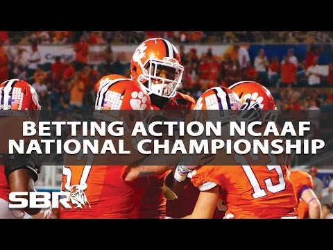 NCAAF Championship Game I Sharp & Public Betting Report With BetDSI