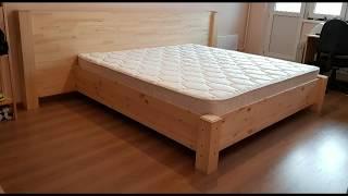 Сделать кровать на коленке в квартире ))