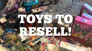 Another Bulq.com Toy Liquidation Lot To Resell On Ebay!