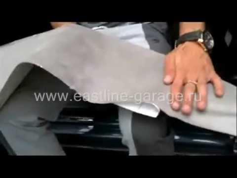 видео: Самоклеющаяся Алькантара.Обтяжка салона