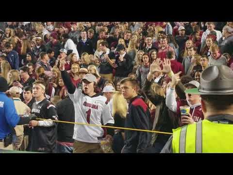 TigerNet: Classy South Carolina fans throw things, flip birds ...