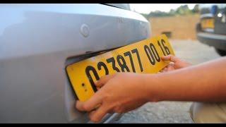 هكذا ستكون بطاقات ترقيم السيارات في الجزائر بداية من جانفي 2017