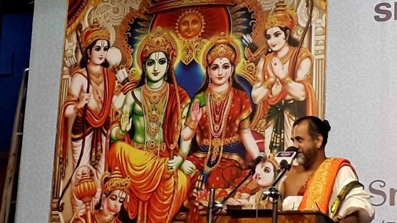 Day2 Part4 - Srimadh Ramayanam Upanyasam   Sri APN Swami