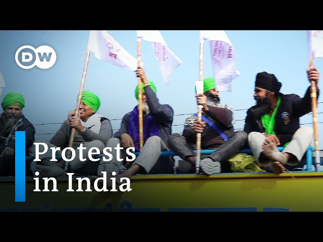 Onwards to New Delhi – a farmer's protest   DW Documentary