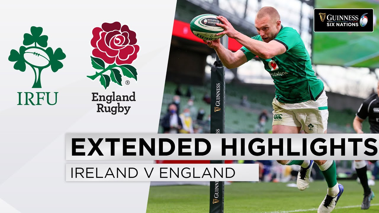 Ireland v England (32-18) | Guinness Six Nations HIGHLIGHTS