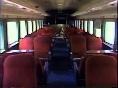 DeQuincy Railroad Museum 1947 pullman car moving day part 1