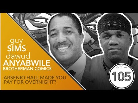 Episode 105: Brotherman Comics Team - Arsenio Hall Made You Pay For Overnight?