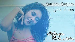 Arinthum Ariyamalum - Konjam Konjam Lyric Video | Navadeep, Sameksha | Yuvan Shankar Raja