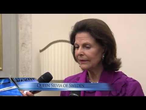 VATICANO - The Queen of Sweden meets the Pope