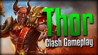 Smite: Silly But Scary!- Brimstone Demon Thor Clash Gameplay
