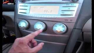 Toyota Camry 2007 Air Conditioning Controls or Blower Motor doesn't work