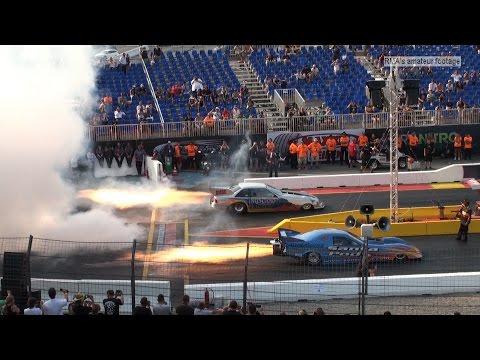 NitrOlympX 2015 - Dragonhunter vs. Fire Force 3 - Jet Funny Car Match Race