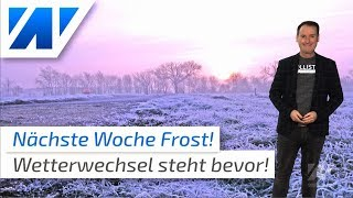 Polare Kaltluft bringt nächste Woche Frost!