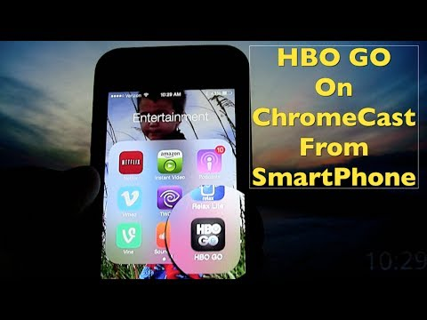 ChromeCast Apps ~ HBO GO ~ Stream HBO From Smartphone To Your TV