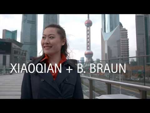 B. Braun Annual Report 2016: Xiaoqian about her home town Shanghai