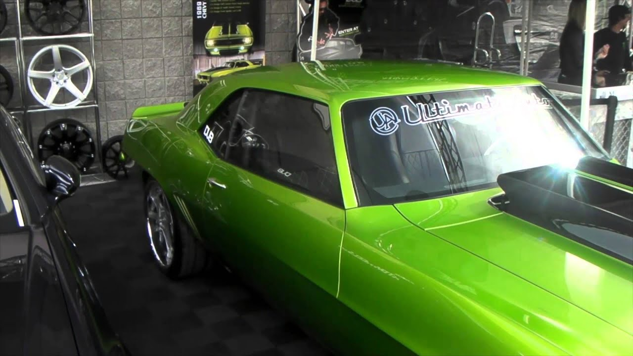 22 Inch Tires >> DUBSandTIRES.com 22 Inch chrome wheels Old school 1969 Camaro Forged Monster Forgiato rims - YouTube