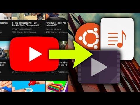Jak pobrac filmy z YouTube w mp4, mp3, wav na Ubuntu?