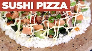 SUSHI PIZZA – Eat The Pizza! #6