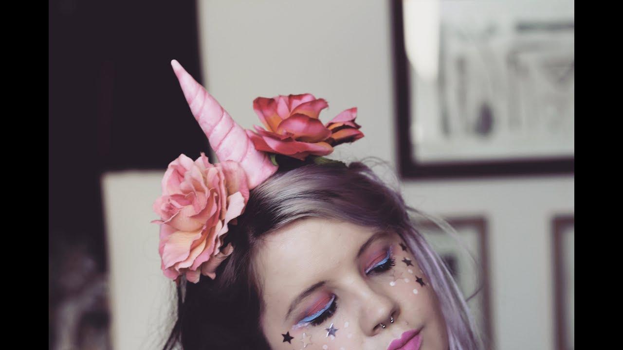 Diy how to make a unicorn horn headpiece youtube solutioingenieria Choice Image