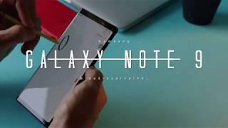 Samsung Galaxy Note 9 - Não é diferente, mas é único