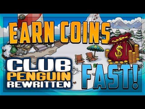 Club Penguin Rewritten - Fastest Way to Earn Coins in CPR (Club Penguin Rewritten Get Coins Fast)