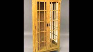 Corner Curio Cabinet For Tom.wmv