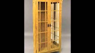 Corner Curio Cabinet For Tom.wmv
