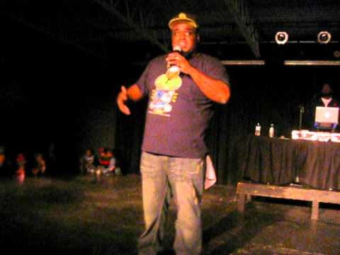 Thi'sl Live 'It's Not About Me' and Testimony (STL Winter Slam 2011)