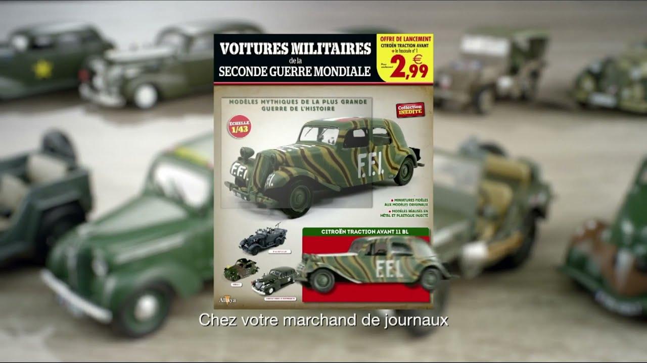 """Musique de la pub voitures militaires de la 2ème guerre mondiale n°1 Altaya """"chez votre marchand de journaux"""" Pub 8s 2021"""