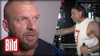 WWE: Wiese wird Wrestler - Das sagt Triple H