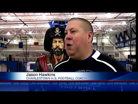 Charlestown football coach receives honor from Colts