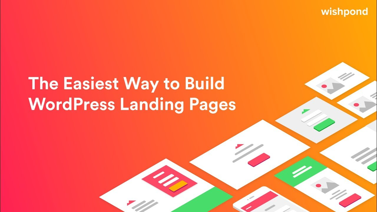 free landing pages builder by wishpond