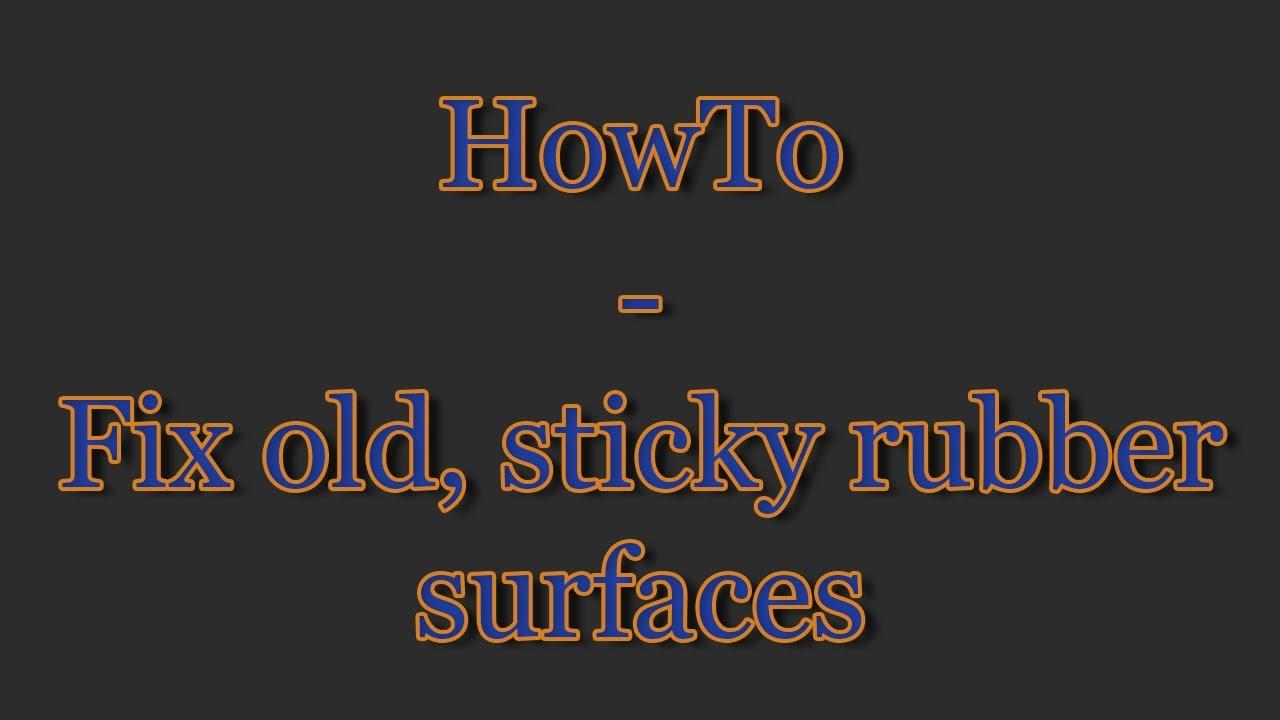 Howto Fix Old Sticky Rubber Surface Camera Nikon F75 Og Photography