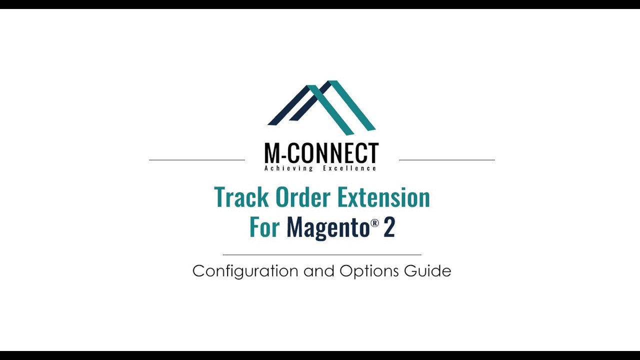 Magento 2 Order Status and Shipment Tracking by M-Connect Media