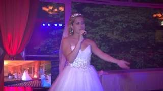 Свадебный сюрприз рижской невесты жениху (песня)