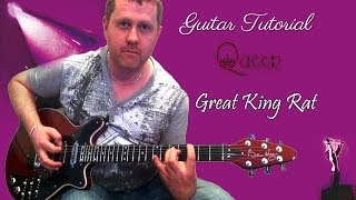 How To Play Queen - Great King Rat - Guitar Tutorial