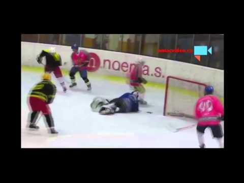 Хоккей. Пьяный вратарь
