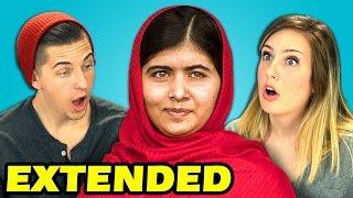 Extended - Teens React to Malala Yousafzai