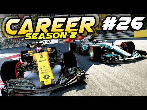 F1 2017 Career Mode Part 26: GEARBOX DISASTER AROUND MONACO