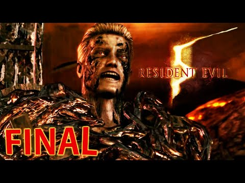 Resident Evil 5 - FINAL ÉPICO!!!!!!! [ Playstation 4 - Playthrough ]